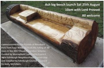 Invitation to log bench opening