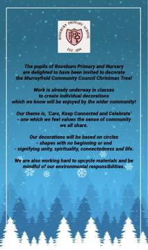 Roseburn Primary school announcement