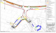 Plan of Traffic Regulation Order designs for CCWEL (c) City of Edinburgh Council