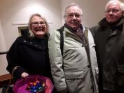 Helen Barbour, Stephen Holland and Robert Smart