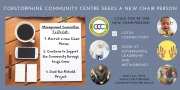 Corstorphine Community Centre advert for a new chair person