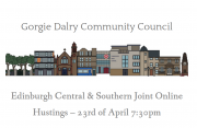 Gorgie Dalry Community Council website hustings image